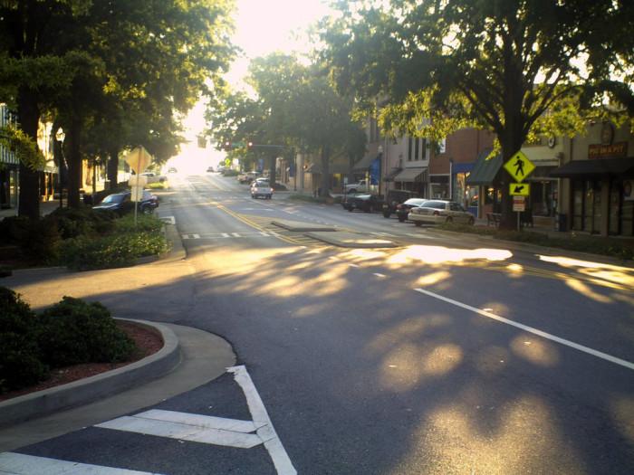 8. Milledgeville, Georgia