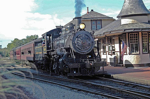 You also cannot, I repeat, CANNOT visit without checking out the historic railroad. The scenic train ride lasts about 45 minutes and is a crucial part of the area's tourism.