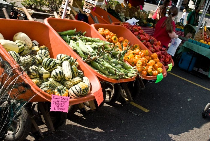 3. Salem Saturday Farmers Market