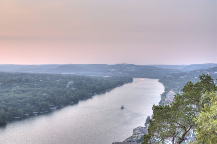 12. Watch the sunset and makeout at Mt. Bonnell.