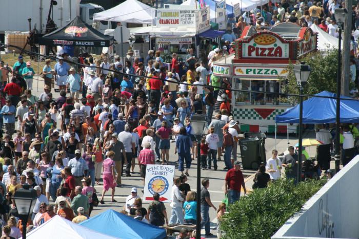 2. NC Seafood Festival, Morehead City