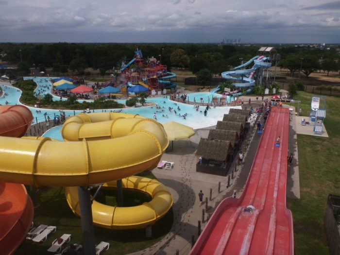 6. Bahama Beach Waterpark is in Dallas, TX and brings some competition to the other Texas waterparks when you check out all of the fun they offer.