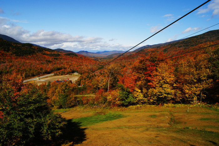 11. This zip line is beautiful, but steep!