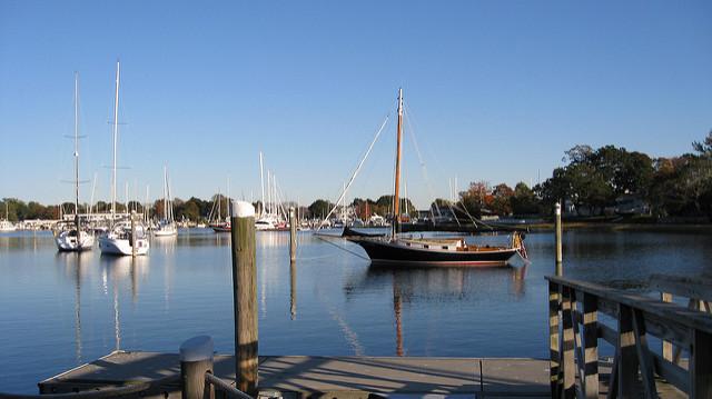 5. Wickford Harbor, North Kingstown
