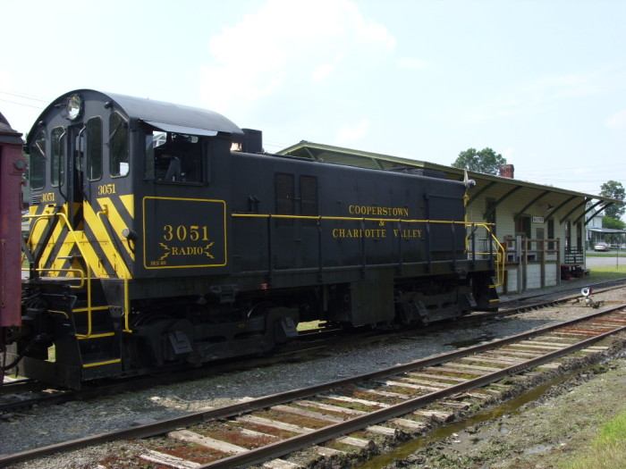 4. Cooperstown & Charlotte Valley Railroad