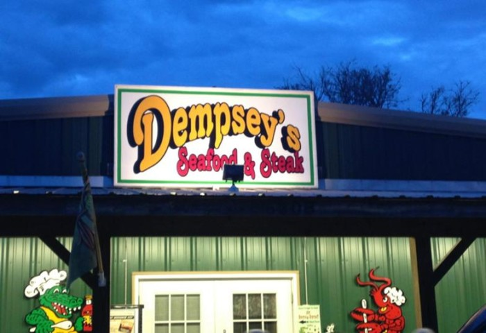 2. Dempsey's Steak and Seafood, Kiln
