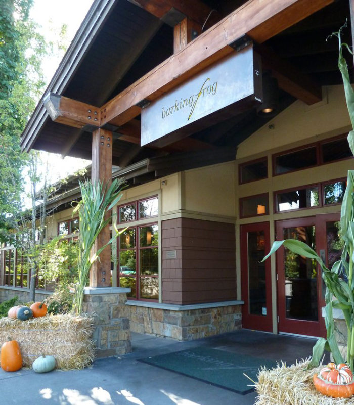 5. Barking Frog, Woodinville