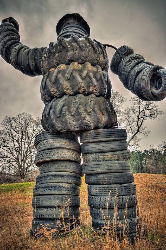 3. Tire Man, Bruce