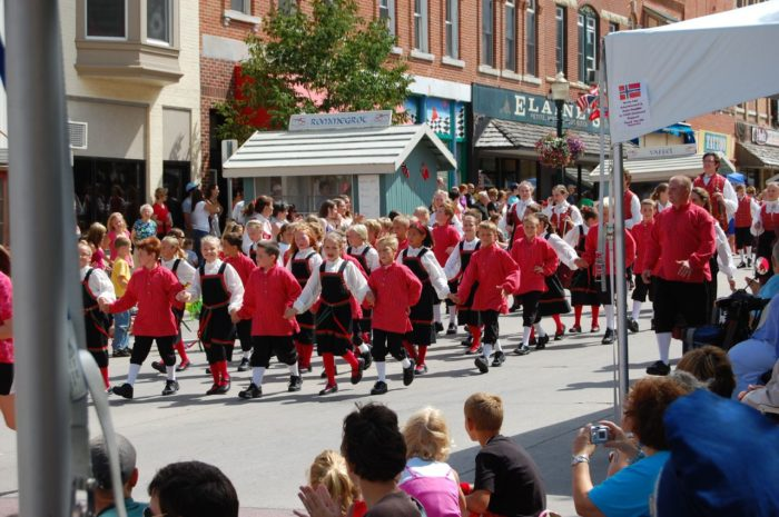 Every year for the last 50 years, Decorah has held their own Nordic celebration called Nordic Fest.