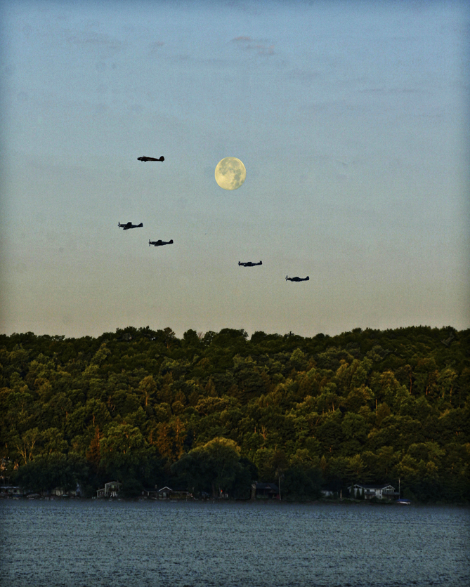 3. National Warplane Museum Air show in Geneseo, NY