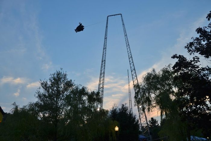 3. Face the Sky Coaster at Kennywood.
