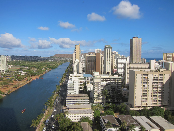 3. In 1920, the Hawaiian government decided to pave the way for future development, building what would become the Ala Wai Canal, which would drain the wetlands.