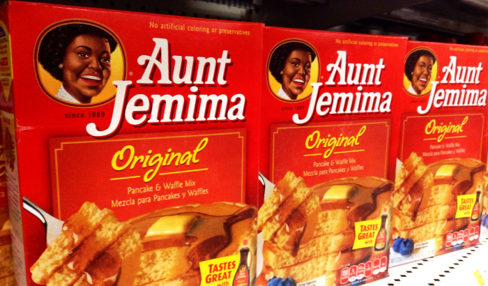3.	Aunt Jemima pancake flour was invented in 1889 in St. Joseph and was the first self-rising flour for pancakes and the first ready-mix food ever to be introduced commercially.