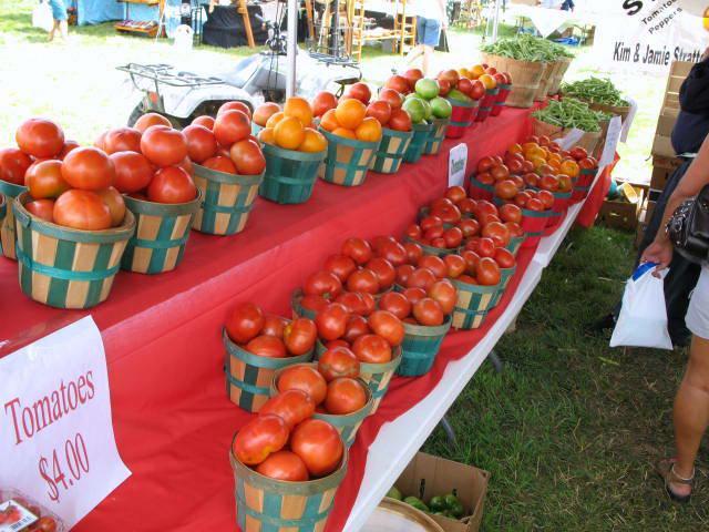 3. Grainger County Tomato Festival - July