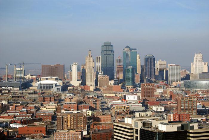 3.Kansas City is actually in Missouri.