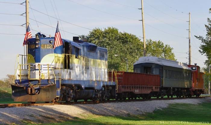 3.The Belton, Grandview and Kansas City Railroad