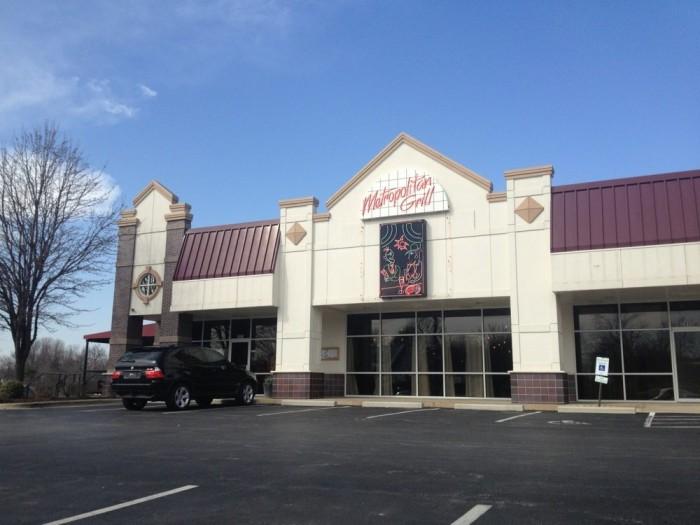 3.Highest rated restaurant in Springfield: Metropolitan Grill
