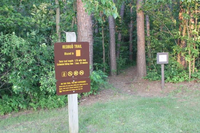 3.2. Redbud Trail at Crowder State Park