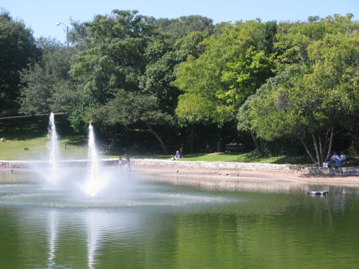 10. A short trail, nonetheless a trail you can take to a peaceful duck pond - Arboretum trails.
