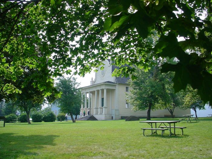 1. Old Mission State Park, Coeur d'Alene