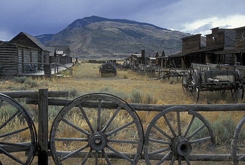 12. Wyoming has not strayed too far from its roots. The skyline and landscape have changed very little throughout the years.
