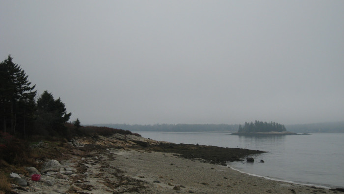5. Maine fog can give a much needed respite to an otherwise busy pace.