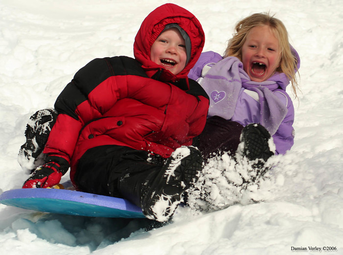 10. If it snowed during the winter, there were tons of amazing places to go sledding.