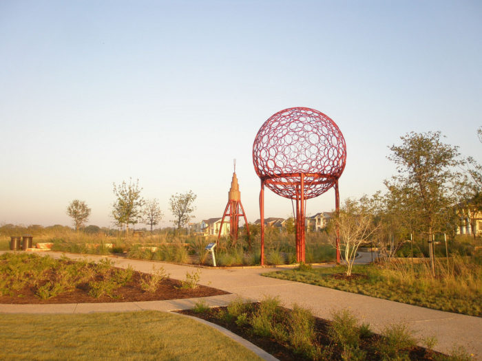 11. The Mueller neighborhood has a beautiful trail that encompasses a park as well.