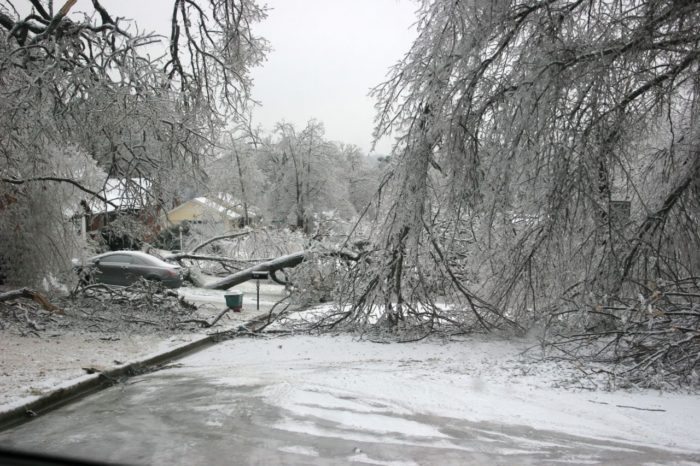 7. Ice storms