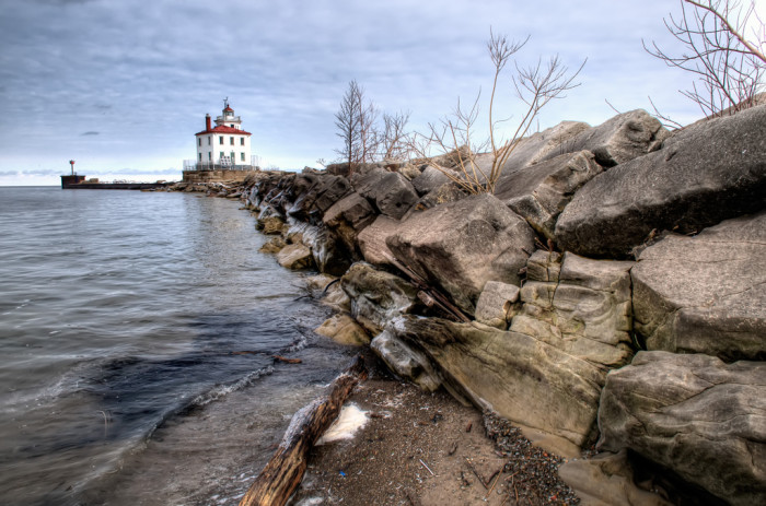 10. The captivating shores of Lake Erie...