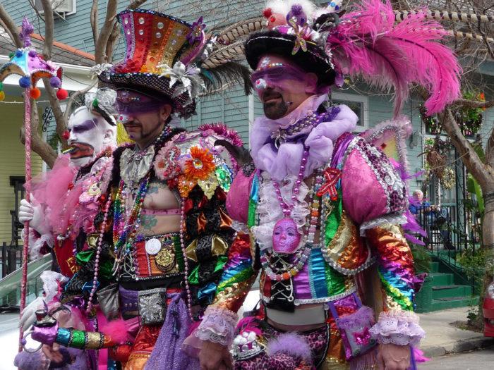 9) Winning best costume contests.
