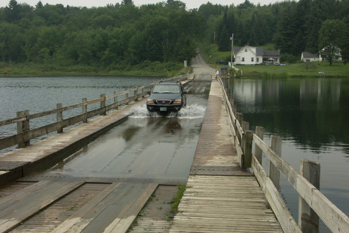 5.  Floating Bridge