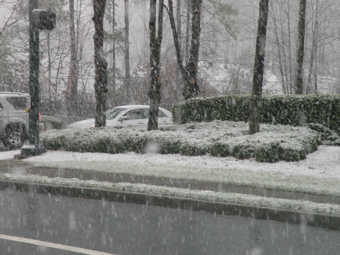 """10. """"We're not the greatest when it comes to driving in the snow."""""""