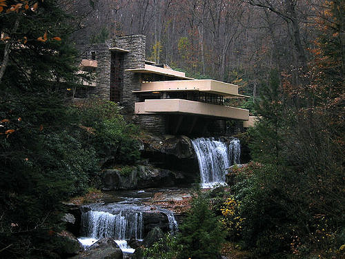 13. PA has plenty of cool hidden treasures, such as Fallingwater, the masterpiece of architecture by Frank Lloyd Wright.