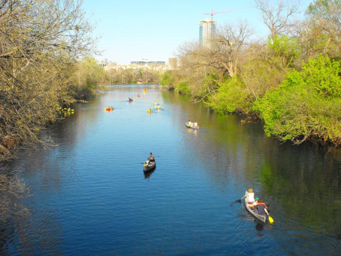 9. Canoeing, kayaking, water-biking, stand up paddle boarding...
