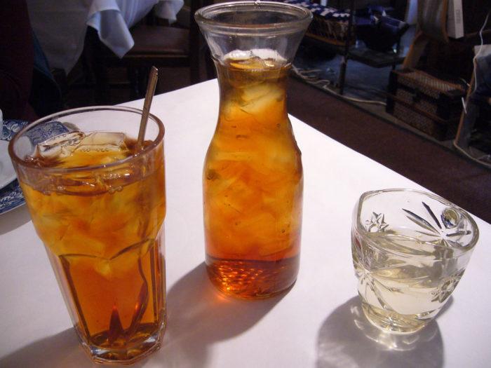 10.Year-round iced tea