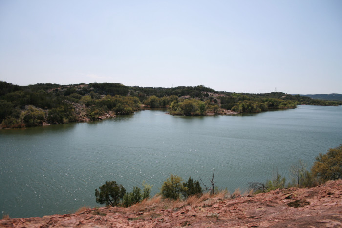 3. Texas gets HOT - Who wouldn't want to take a dip in this pristine beauty at Inks Lake State Park?