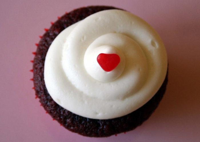 9. Red Velvet Cupcake