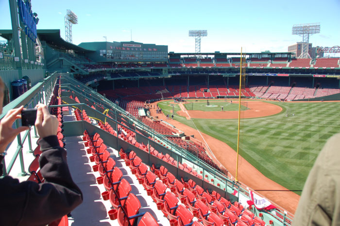 12. The park has the smallest foul territory in major league baseball.