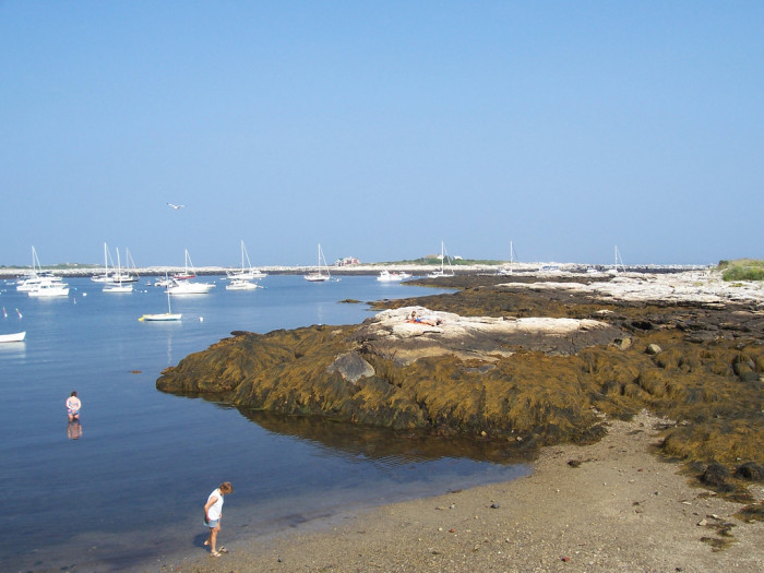 1. Gosport Harbor on the Isle of Shoals in quintessential beachside New England.