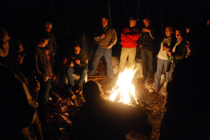 11. … After sitting around the campfire with my loved ones, of course.