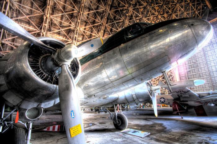 5. Tillamook Air Museum