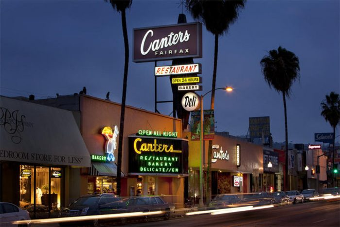 7. Canter's Deli - Los Angeles