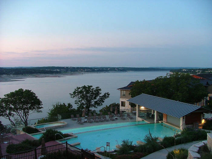 2. The views you'll steal if you book a stay at Lakeway Resort and Spa.