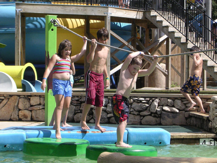 2. Volente Beach Waterpark is right on the shores of Lake Travis, great for the whole family!