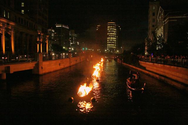 10. Waterfire, Providence