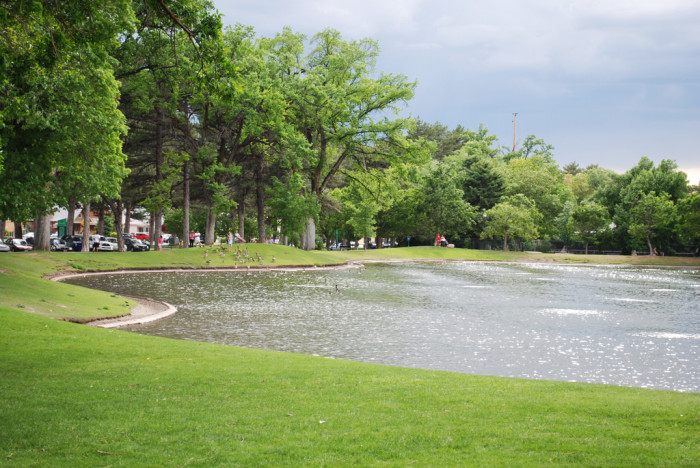 15. The municipal parks in Salt Lake City are beautiful, relaxing spots.