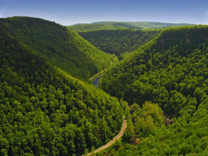 16. Pine Creek Gorge, Pennsylvannia