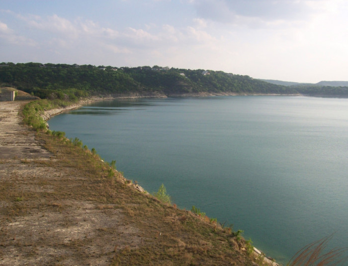 7. Canyon Lake is a short drive from Austin, and is obviously worth the drive.