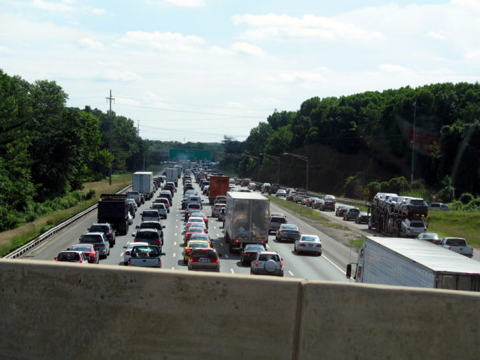 4. Construction congestion on I-95